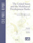 The United States and the Multilateral Development Banks