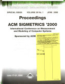 ACM Sigmetrics Joint International Conference on Measurement and Modeling of Computer Systems
