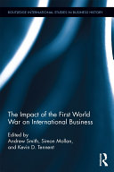 The Impact of the First World War on International Business