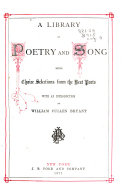 Pdf A Library of Poetry and Song