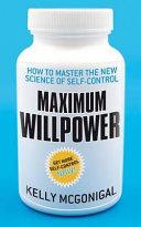 Maximum Willpower