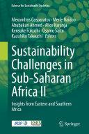 Sustainability Challenges in Sub-Saharan Africa II Pdf/ePub eBook
