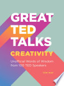 Great TED Talks  Creativity Book
