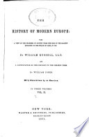 The History of Modern Europe  pt  II  From the peace of Westphalia  in 1648  to the peace of Paris  in 1763 Book