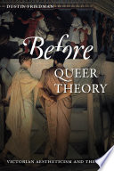 Before Queer Theory