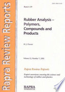 Rubber Analysis Book PDF