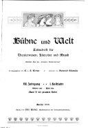 Monatsschrift Für Das Deutsche Geistesleben