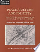 Place Culture And Identity