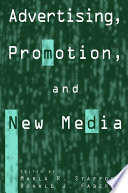 Advertising Promotion And New Media Book PDF