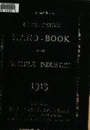 Handbook of Textile Corporations Book