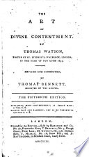 or The art of divine contentment     The thirteenth edition
