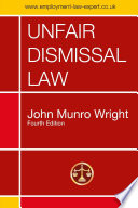 Unfair Dismissal Law Fourth Edition