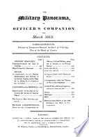 The Military [afterw.] Royal military panorama or Officer's companion