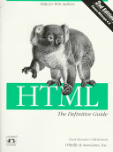 HTML  the Definitive Guide