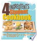 4 Ingredients Student Cookbook Book PDF