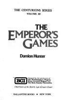 The Emperor s Games Book