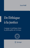 Pdf De L'éthique à la Justice Telecharger