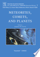 Meteorites  Comets  and Planets Book