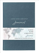 NET  Love God Greatly Journal  Cloth Over Board  Comfort Print