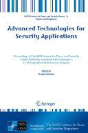 Advanced Technologies for Security Applications Pdf/ePub eBook