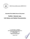 Essential fish habitat source document Redfish  Sebastes spp   life history and habitat characteristics