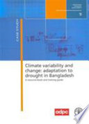 Climate Variability and Change Book