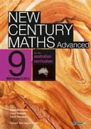 Cover of New Century Maths Advanced 9 for the Australian Curriculum