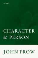 Character and Person Pdf/ePub eBook
