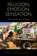 Religion, Emotion, Sensation Pdf/ePub eBook