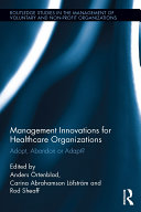 Pdf Management Innovations for Healthcare Organizations