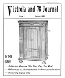 Victrola And 78 Journal PDF