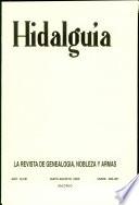 Revista Hidalguía número 280-281. Año 2000