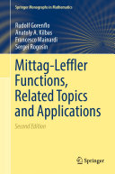Mittag-Leffler Functions, Related Topics and Applications Pdf/ePub eBook