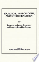 Bourgeois  Sans Culottes and Other Frenchmen