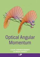 Optical Angular Momentum Pdf/ePub eBook