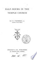 Half hours in the Temple Church Book PDF