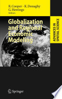 Globalization And Regional Economic Modeling Book PDF