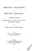 Medi  val Preachers and Medi  val Preaching