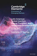 Latin America Global Insertion Energy Transition And Sustainable Development Book PDF