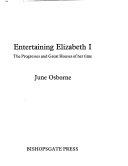 Entertaining Elizabeth I Book