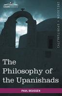 The Philosophy of the Upanishads Pdf/ePub eBook