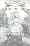 The Firstborn of Many  Doctrinal and practical Christology Book PDF