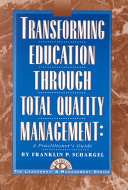 Transforming Education Through Total Quality Management