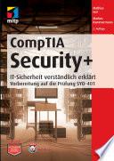 CompTIA Security+  : IT-Sicherheit verständlich erklärt - Vorbereitung auf die Prüfung SYO-401