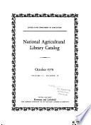 National Agricultural Library Catalog
