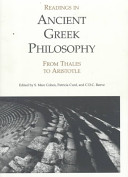 Readings in Ancient Greek Philosophy