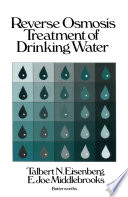 Reverse Osmosis Treatment of Drinking Water Book