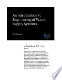 An Introduction to Engineering of Water Supply Systems Book