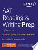SAT Reading   Writing Prep