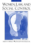 Women  Law  and Social Control Book PDF